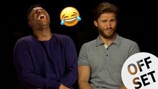 What do I do with my tongue John Boyega  Scott Eastwood hilariously chat Pacific Rim Uprising
