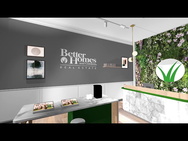 Sneak Peek of the Better Homes and Gardens Real Estate office