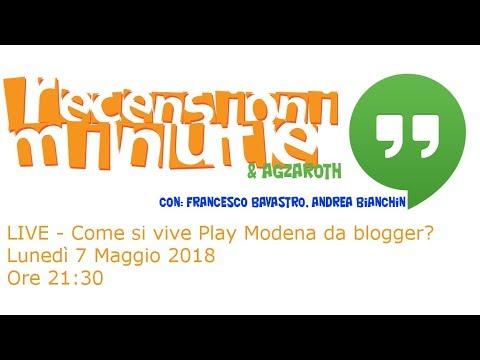Recensioni Minute [014] - Play Modena da blogger