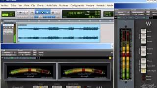 Analizador VST RTAS | Waves Dorrough © | Curso Técnico de Produccion Musical