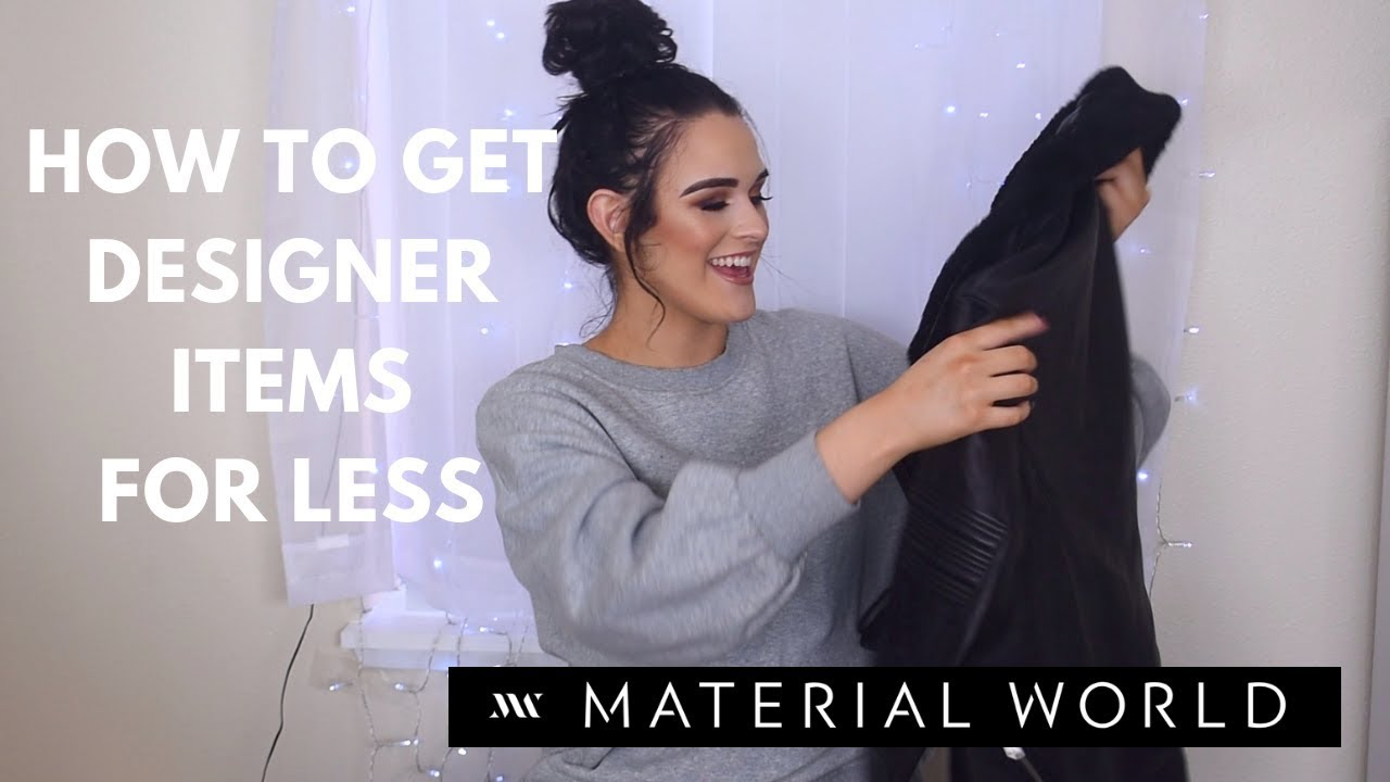 a4b9f14b5aa How to get Cheap DESIGNER Clothes!