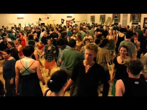 Giant Robot Dance at Capital City Grange Hall