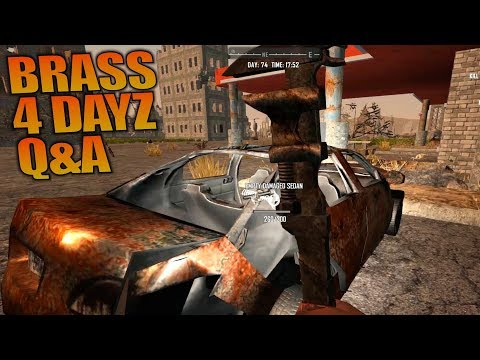 BRASS 4 DAYZ Q&A | 7 Days to Die | Let's Play Gameplay Alpha 16 | S16.4E74