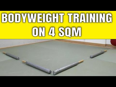 Bodyweight training on 4 squared meters!