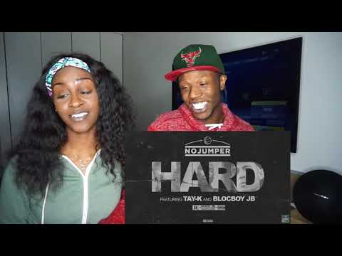 Tay K & Blocboy JB - Hard (Official Audio) - REACTION