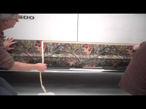Mossy Oak Graphics Camouflage Rocker Panel Kit Installation Instructions