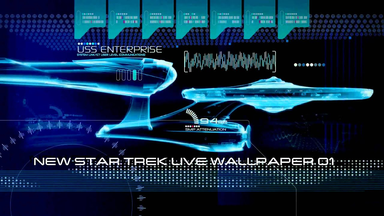 new star trek live wallpaper 01 - youtube