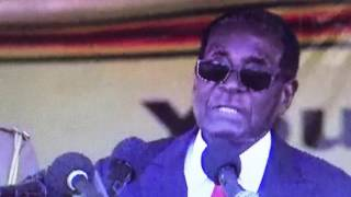 zanu pf one million man march mugabe speech