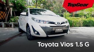Review: Toyota Vios 1.5 G MT 2018