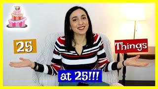 25 πράγματα που έμαθα στα 25!    Dodo