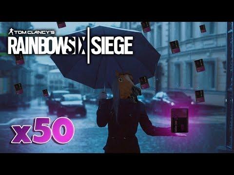 50 ALPHA PACK OPENING ES REGNET EPISCHE | Rainbow Six Siege | [German/HD]