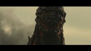 動くゴジラが公開!内側から赤く発光も… 映画「シン・ゴジラ」予告編公開 #Godzilla #movie 余貴美子 検索動画 26