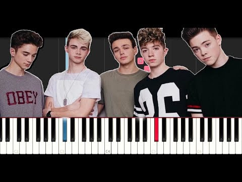 Why Don't We -  Words I Didn't Say (EASY Piano Tutorial )