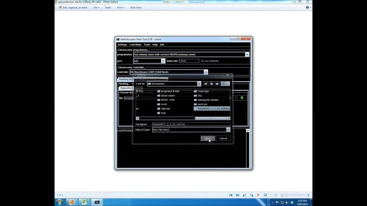 Flash ALEXMOS Firmware Onto Your Gimbal