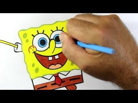 Como Desenhar Bob Esponja Passo A Passo 480 Youtube