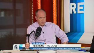 peter king of the mmqb talks aaron rogers eddie lacy the packers 7 28 16