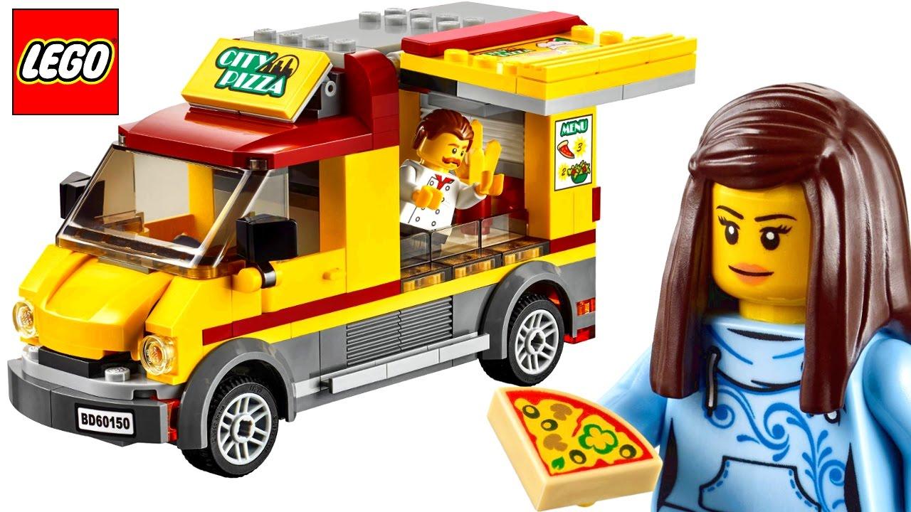 Lego City Pizza Van 60150 Lego Speed Build Review Brickqueen