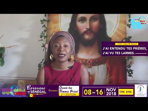 CARAVANE D'EVANGELISATION DE LA FRATERNITE FIAT SENEGAL 2018