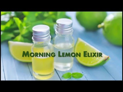 Lemon Juice In The Morning - This Miracle Fat Burning Drink