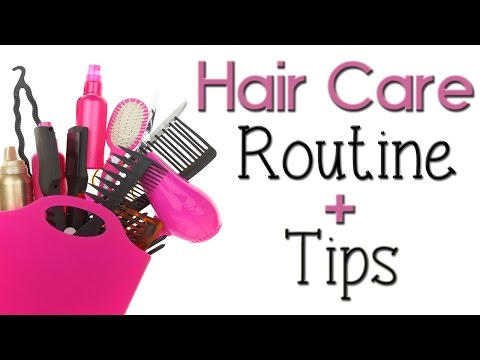 Hair Care Routine & Holy Grail Hair Products + Tips!