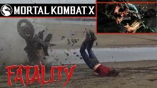 Mortal Kombat X-Ray in REAL LIFE¡¡¡ Finish them¡¡ Part #1.HD