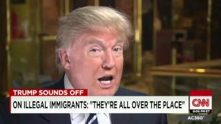 Donald Trump׃ Hillary Clinton has a lot to hide CNN interview with Anderson Cooper