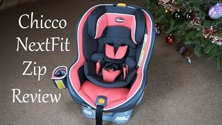 Chicco NextFit Zip Convertible Car Seat Review // Momma Alia