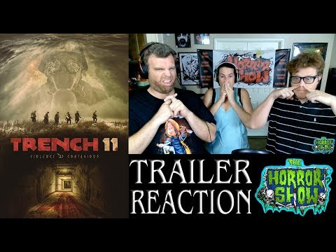 Trench 11 2018 WWI Horror movie Trailer Reaction - The Horror Show
