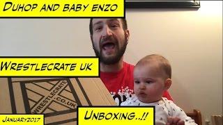 Duhop WRESTLECRATE UK UNBOXING JANUARY 2017