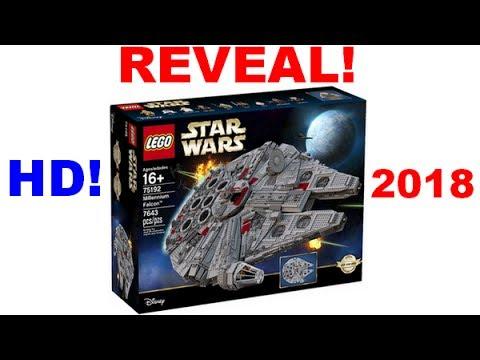 LEGO UCS Millennium Falcon 75192! - VISUAL 2018! - YouTube