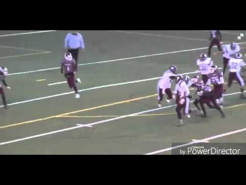 Auburn Maroons: Derek Taylor #5 Junior Football Highlights