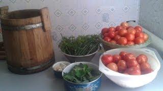 видео Соление огурцов, томатов и арбузов, мочение плодов и ягод