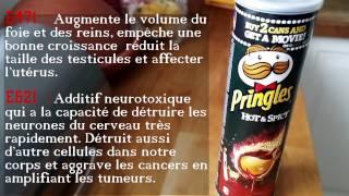 Additifs alimentaires pringles hot et spicy E621 et E471