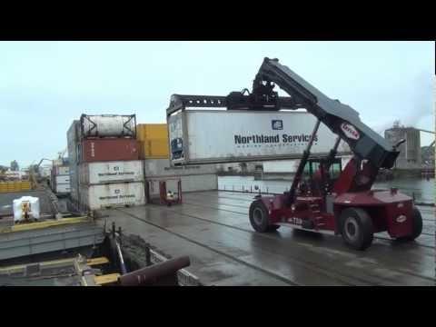 Taylor TS-9972 Reachstacker  Breakbulk-Stevedoring