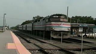 *RARE*Amtrak F40PH #355 w/K5LA!!!