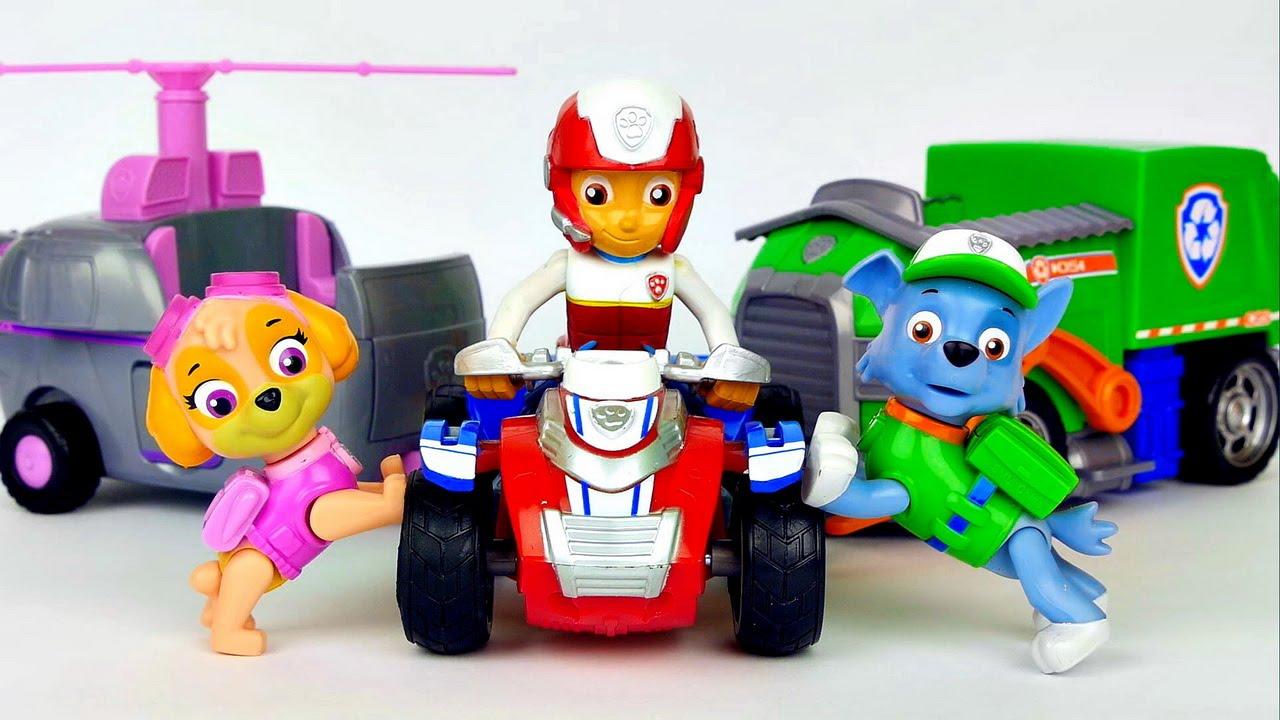 щенячий патруль картинки игрушек