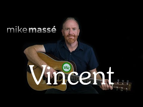 Vincent (acoustic Don McLean cover) - Mike Massé