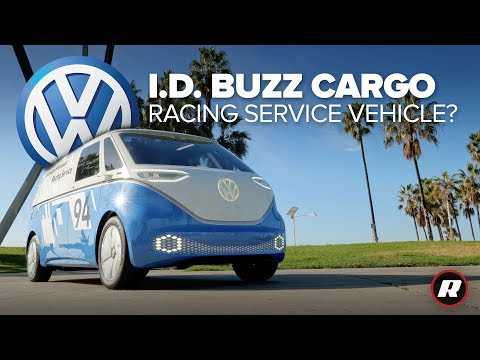 VW ID Buzz Cargo: This all-electric van can haul nearly anything