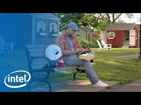 Look Inside.™: Intel®-powered 2 in 1s with Bob Staake | Intel