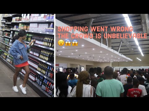 we went to a super market in Benin city ring road and this happened|Benin City Nigeria