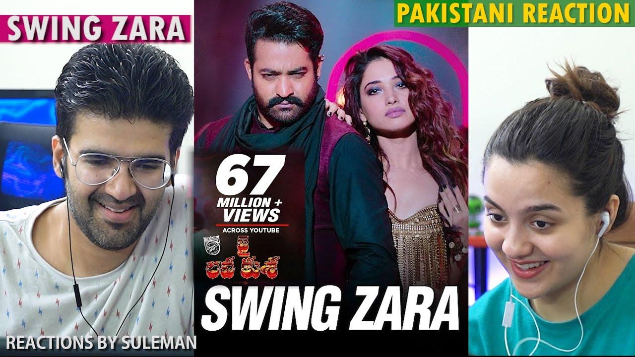 Pakistani Couple Reacts To Swing Zara |  Jr NTR , Tamannaah | Devi Sri Prasad | Jai Lava Kusa