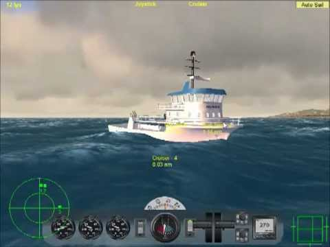Fishing boat in vehicle simulator youtube for Fishing boat games