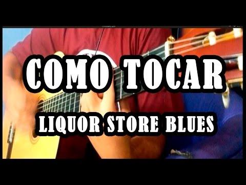Como Tocar - How to play - Liquor store blues - Bruno mars - Bluezz