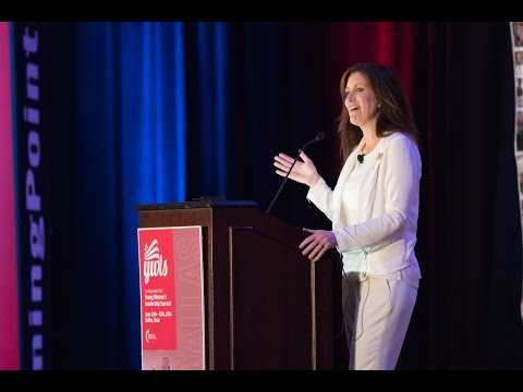 Heidi Ganahl speaking at Turning Point USA's Young Women's Leadership Summit