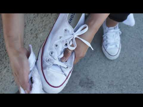 Quick Shoe Cleaning (Converse All-Stars) SHOE MGK