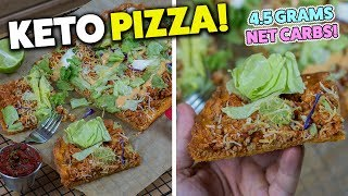 The Easiest Taco KETO Pizza Recipe!