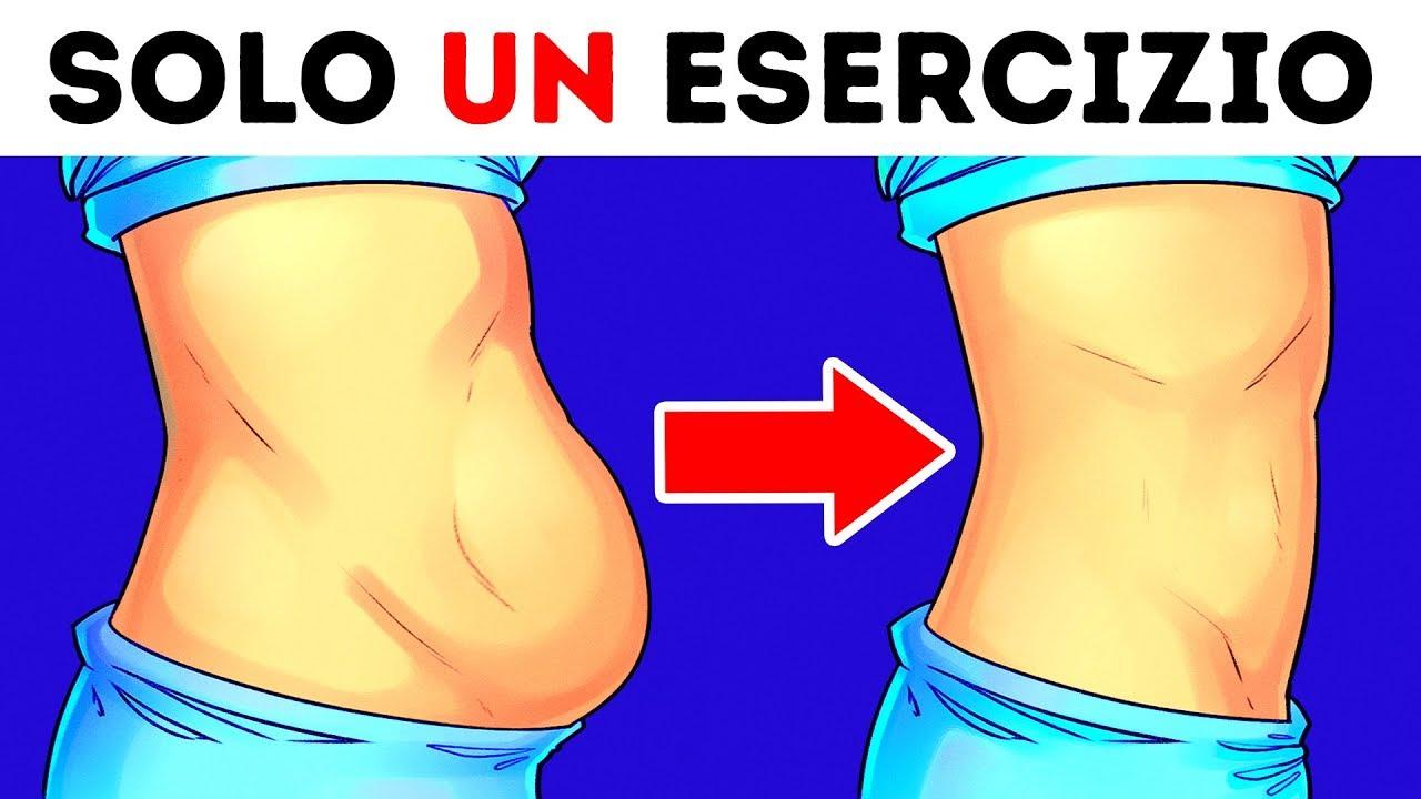 perdere allenamento grasso pancia