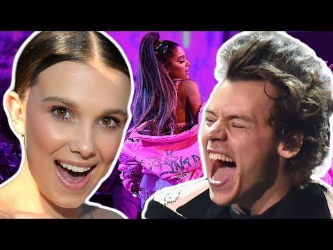 Harry Styles y Millie Bobby Brown JUNTOS en Concierto de Ariana Grande