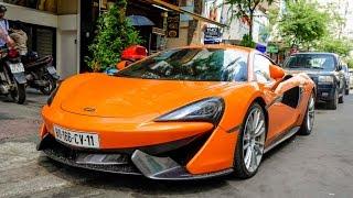 McLaren 570S của trùm ma túy 300 tỷ vừa bị bắt tại Bình Thạnh!!!