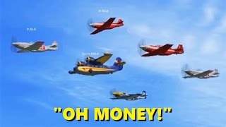 FSX Multiplayer CHAOS: P-51 Mustang Formation Flight (Part 3)